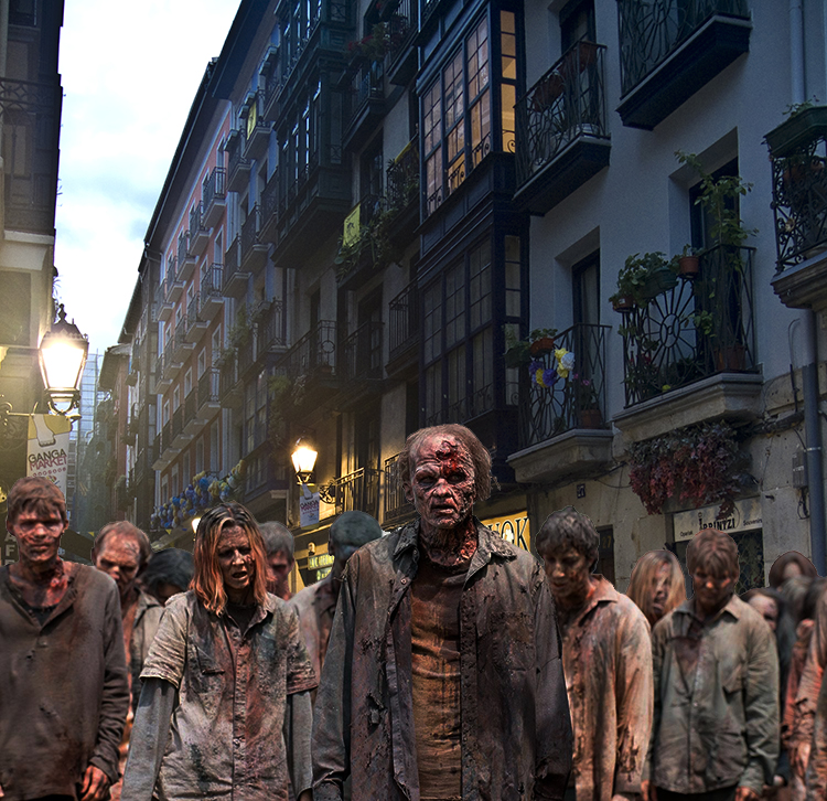 The Walking Dead en las 7 Calles